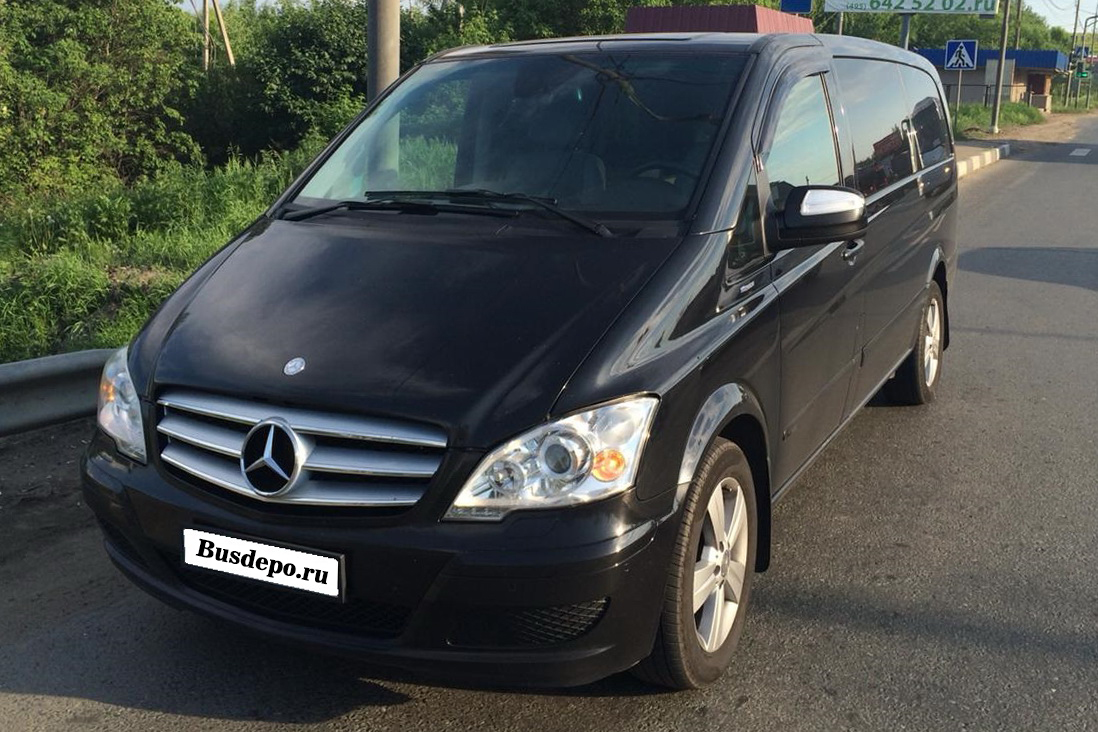 Mercedes-Benz Viano Black